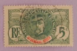 "HAUT SENEGAL ET NIGER YT 4 OBLITERE ""GENERAL FAIDHERBE"" ANNÉE 1906 - Gebruikt"