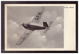 Dt- Reich (021840) Propagandakarte, Si 202 Hummel, Der Siebel Flugzeugwerke Halle, Gelaufen Mit Feldpost - Interi Postali