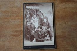 Cabinet Troupes D'Afrique  Zouaves Amis Par Cougot  Constantine  Vers 1900 - Oorlog, Militair
