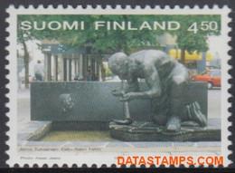 Finland 1999 - Mi:1465, Yv:1427, Stamp - XX - Labor Movement - Nuevos