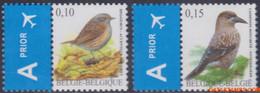 België 2008 - Mi:3796/3797, Yv:3731/3732, OBP:3749/3750, Stamp - XX - Birds Heggemus, Nutcracker - 1985-.. Vogels (Buzin)