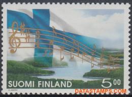 Finland 1998 - Mi:1434, Yv:1400, Stamp - XX - Long-term Series Anthem - Nuevos
