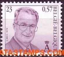 België 2000 - Mi:2984, Yv:2935A, OBP:2933, Coil Seal - XX - King Albert II Broux-mvtm - 1993-.. MVTM