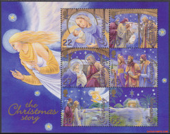 Guernsey 2002 - Mi:BL 32, Yv:BL 49, Block - XX - Christmas - Guernesey