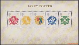 Groot Brittannie 2007 - Mi:BL 38, Yv:BL 49, SG:MS 2757, Block - XX - Harry Potter - Blocks & Miniature Sheets