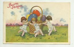 BUONA PASQUA  - VIAGGIATA  1923  FP - Easter
