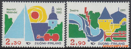 Finland 1993 - Mi:1210/1211, Yv:1176/1177, Stamp - XX - Norden 1993 Tourism - Nuevos