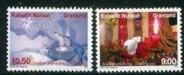 GREENLAND 2013 Christmas MNH / **.  Michel 653-54 - Ungebraucht