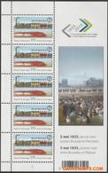 België 2010 - Mi:KB 4082, Yv:F 4017, OBP:F 4036, Sheet - XX - Belgian Railways - Velletjes