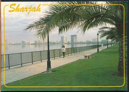 °°° 26032 - UAE - SHARJAH - KHALID LAGOON & CORNICH ROAD °°° - United Arab Emirates