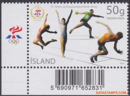 Ijsland 2012 - Mi:1344, Yv:1271, Stamp - XX - Olympic Committee - Ungebraucht