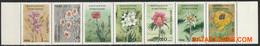 Kirgistan 1994 - Mi:29/35, Yv:32/38, Stamp - XX - Flowers - Kirgizië