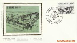 België 1979 - Mi:2002, Yv:1951, OBP:1946, Fdc Z/s - O - Coal Mine - 1971-80