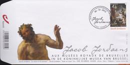 België 2012 - Mi:4324, Yv:4258, OBP:4278, Fdc - O - Jacob Jordaens - 2001-10