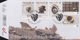 België 2013 - Mi:4361/4365, Yv:4295/4299, OBP:4315/4319, Fdc - O - The Belgian Chocolate - 2001-10