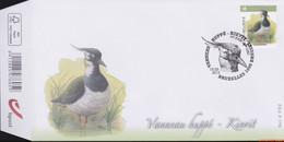 België 2013 - Mi:4413, Yv:4348, OBP:4367, Fdc - O - Birds Lapwing - 2001-10