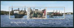 GREENLAND 2013 Nordafar Trading Station Block  MNH / **.  Michel Block 64 - Ungebraucht