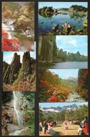 North Korea National Dance And Costumes Lot Of 7 Postcards   #32720 - Korea, North