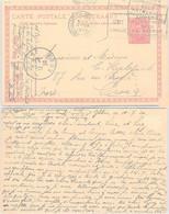BELGIQUE -  CP ENTIER POSTAL  VIIe OLYMPIADE 1920 ANTWERPEN - 11.7.1920  /1 - Covers & Documents