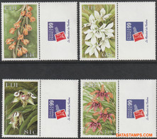 Fiji 1999 - Mi:880/883, Yv:872/875, Stamp - XX - Orchid Philexfrance 99 - Fiji (1970-...)