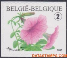 België 2007 - Mi:3769 Dr, Yv:3702, OBP:3733a, Stamp - XX - Flowers Petunia Hybrida - Ongebruikt