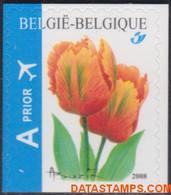 België 2008 - Mi:3833 Du, Yv:3768, OBP:3786a, Stamp - XX - Flowers Tulipa - Ongebruikt