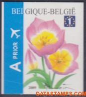 België 2009 - Mi:3918 Do, Yv:3853, OBP:3872, Stamp - XX - Flowers Tulipa Bakeri - Ongebruikt