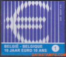 België 2009 - Mi:3919 Dl, Yv:3854, OBP:3873, Stamp - XX - Euros - Ongebruikt