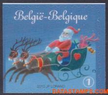 België 2010 - Mi:4133 Dr, Yv:4068, OBP:4087a, Stamp - XX - Moody Christmas - Ongebruikt