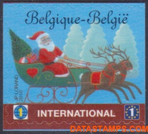 België 2010 - Mi:4134 Dr, Yv:4069, OBP:4088a, Stamp - XX - Moody Christmas - Ongebruikt