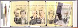 België 2010 - Mi:MH 47, Yv:C 3976, OBP:B 111, Booklet - XX - Literature Walk Through Brussels - Booklets 1953-....