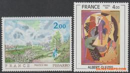 Frankrijk 1981 - Mi:2248 + 2258, Yv:2136/2137, Stamp - XX - Art - Ongebruikt