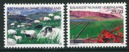 GREENLAND 2013 Agricultural Scenes II MNH / **.  Michel 640-41 - Ungebraucht