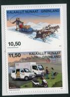 GREENLAND 2013 Europa: Postal Vehicles Self-adhesive MNH / **.  Michel 634-35 - Ungebraucht