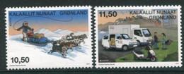 GREENLAND 2013 Europa: Postal Vehicles MNH / **.  Michel 632-33 - Ungebraucht