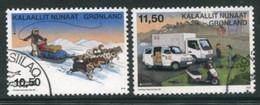 GREENLAND 2013 Europa: Postal Vehicles Used  Michel 632-33 - Gebraucht