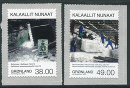 GREENLAND 2013 Mining IV MNH / **  Michel 630-31 - Ungebraucht