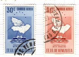 YV+ Venezuela 1953 Mi 902-03 Amacura - Venezuela