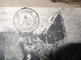 Cachet 15é Corps, Quartier General - 1914 ............. 201101c-3581 - Guerra De 1914-18