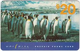 AUSTRALIA B-797 Prepaid Unidial - Animal, Penguin - Used - Australia
