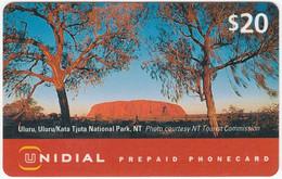 AUSTRALIA B-800 Prepaid Unidial - Used - Australia
