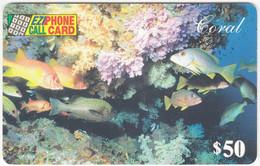AUSTRALIA B-810 Prepaid EZIPhone - Animal, Sea Life, Fish - Used - Australia