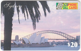 AUSTRALIA B-825 Prepaid EZIPhone - Landmark, Opera House, Sidney - Used - Australia