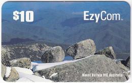 AUSTRALIA B-835 Prepaid EzyCom - Landscape, Mountain - Used - Australia