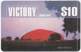 AUSTRALIA B-839 Prepaid Victory - Landmark, Uluru - Used - Australia