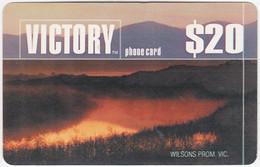 AUSTRALIA B-842 Prepaid Victory - Landscape, Forest - Used - Australia