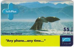 AUSTRALIA B-847 Prepaid Clear - Animal, Sea Life, Whale - Used - Australia