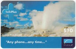 AUSTRALIA B-848 Prepaid Clear - Landscape, Geysir - Used - Australia