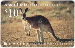 AUSTRALIA B-859 Prepaid Switch - Animal, Kangaroo - Used - Australia