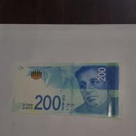 Israel-Natan Alterman-(200-new Shekels)-(Gobernador De Bank-karnit Flug)-(2230206301)-(2017)-u.n.c - Israel